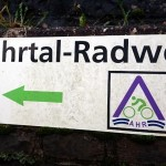 foto bord ahrtal-radweg
