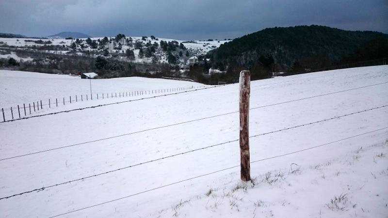 foto landschap sneeuw Ahrdorf